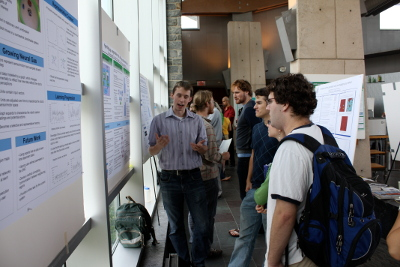 poster session picture